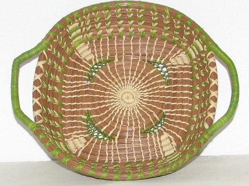 Small Green Pine Needle Basket