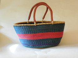 Extra Large Bolga Two Handled Basket