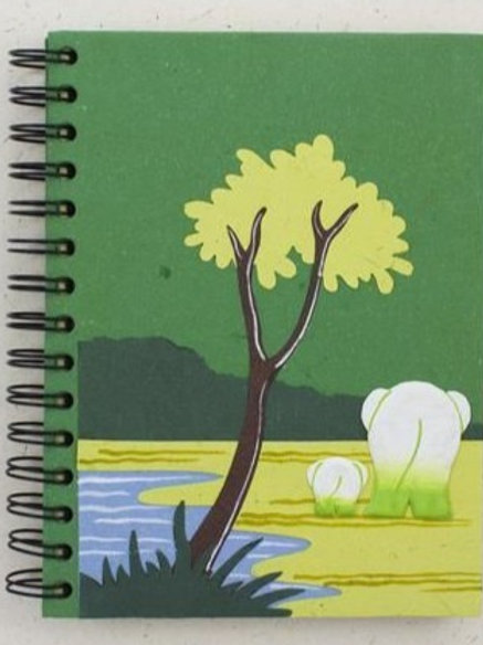 ElliePoo Large Notepad paper off-white