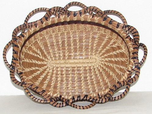 Pine Needle Bread Basket