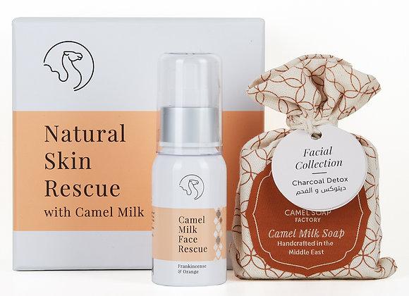 Coffret cadeau soins du visage Natural Skin Rescue
