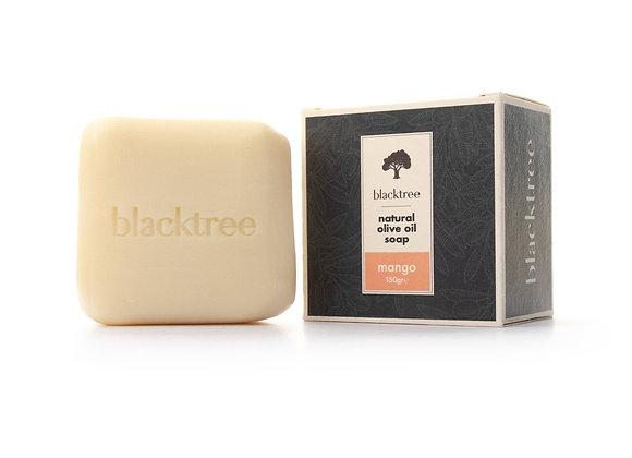 BlackTree Mangue- Savon à l'huile d'olive naturelle -150g