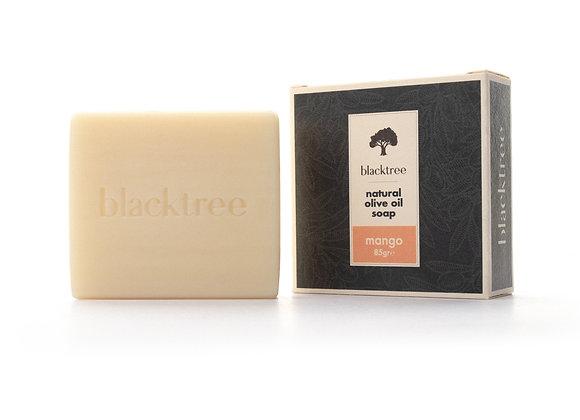 BlackTree Mangue- Savon à l'huile d'olive naturelle- 85g