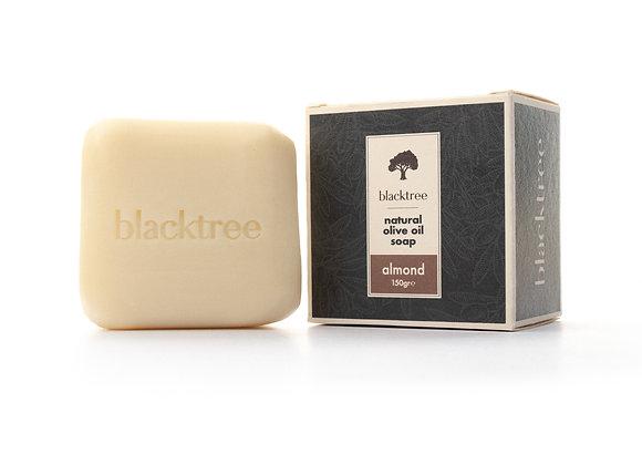 BlackTree Amande- Savon à l'huile d'olive naturelle - 150g