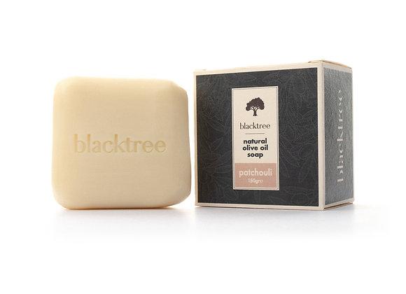 BlackTree Patchouli- Savon à l'huile d'olive naturelle- 150g
