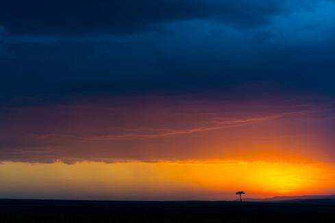 Raindow Sunset