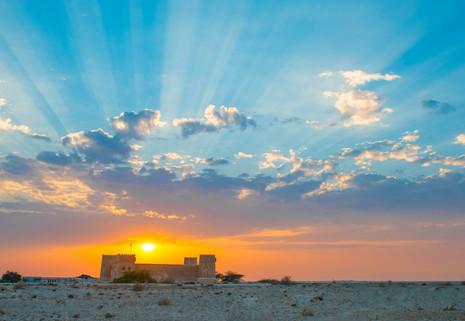 Alzubarah Sunset