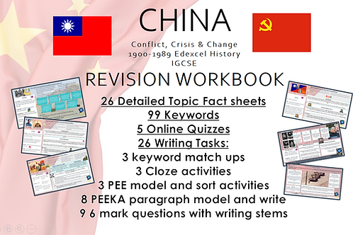 China History: Revision Workbook: Conflict, Crisis and Change 1900 - 1989 IGCSE
