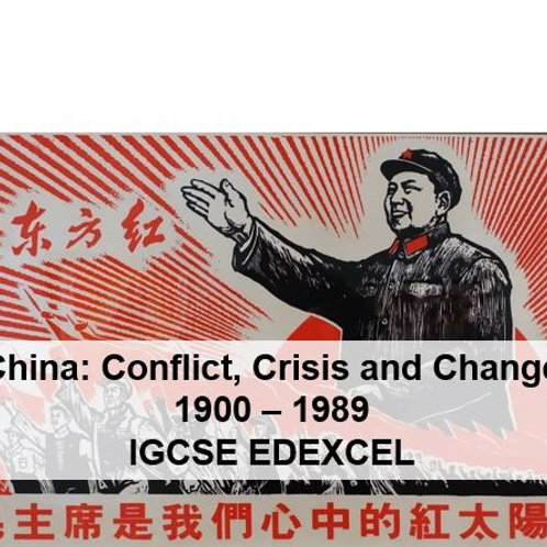 China - Conflict, Crisis and Change - Part 1