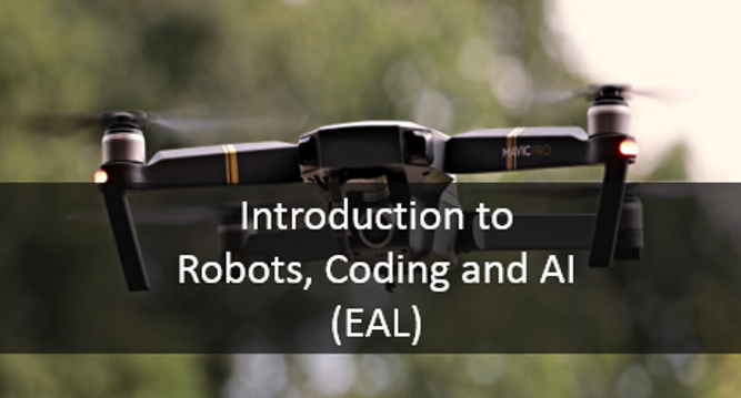Intro to robots coding and ai eal