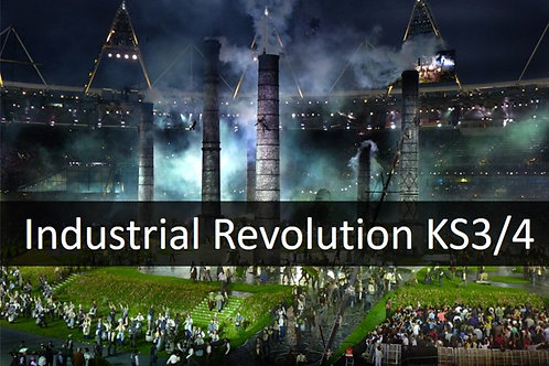 Industrial Revolution SOW