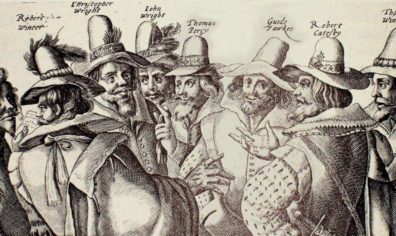Guy Fawkes, 1605