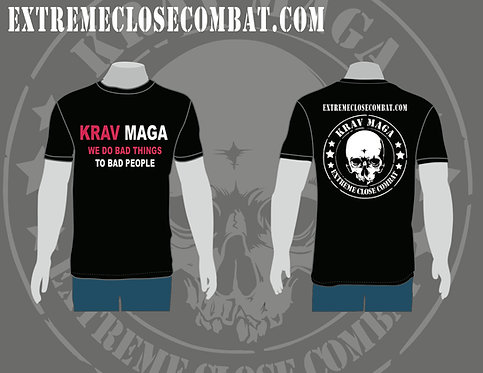 Men T-Shirt - We do bad things to bad people