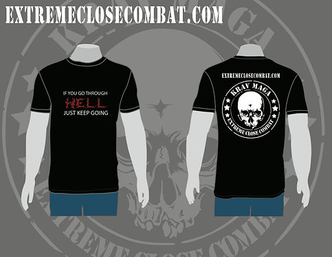 Men T-Shirt - If you go trough hell...
