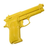 Yellow Rubber Trainings Gun
