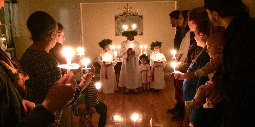 Saint Lucy's Crowning