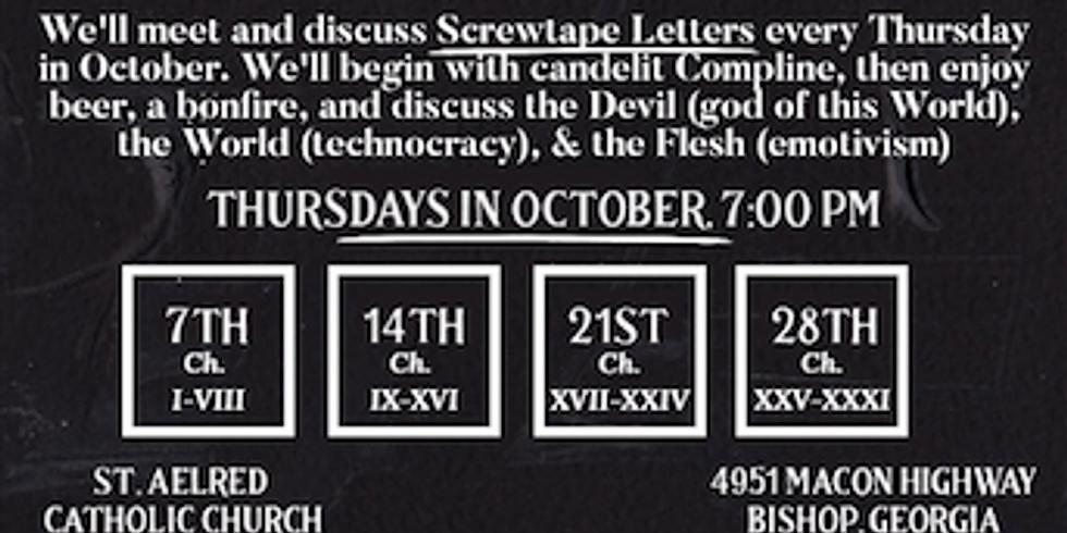 """Screwtape Letters,"" Men's Group"