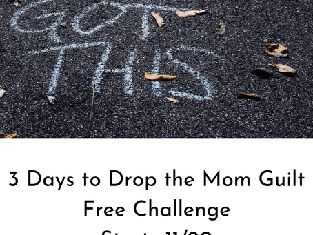 Do you suffer from Mom Guilt & Comparisonitis?