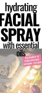 DIY Hydrating Facial Spray