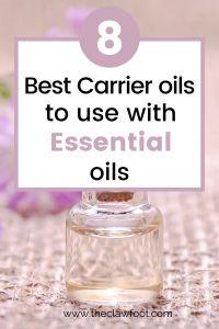8 Best Carrier Oils