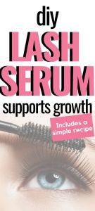 diy lash serum recipe