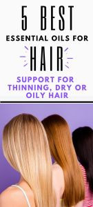 Using essential oil for hair care