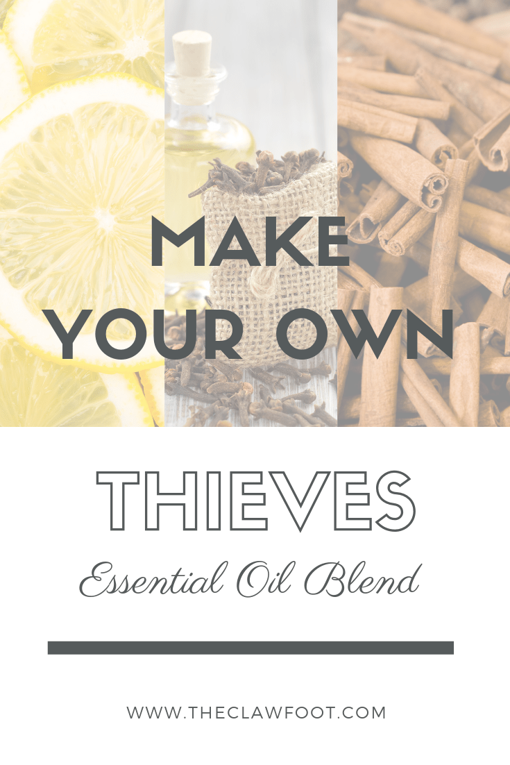 DIY Thieves Oil by The Clawfoot