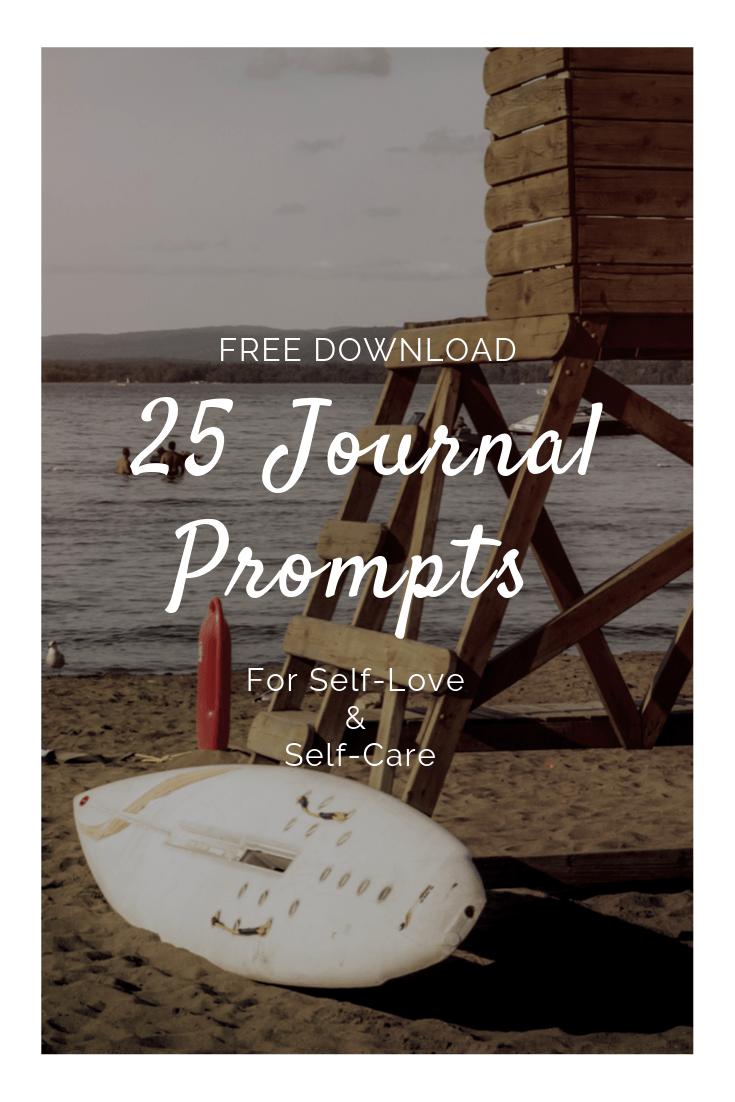 25 Journal Prompts Free PDF