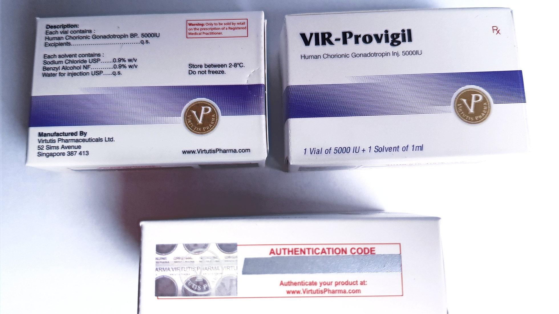 HCG 5000IU-PREGNYL TESTOSTERONE PRODIGY