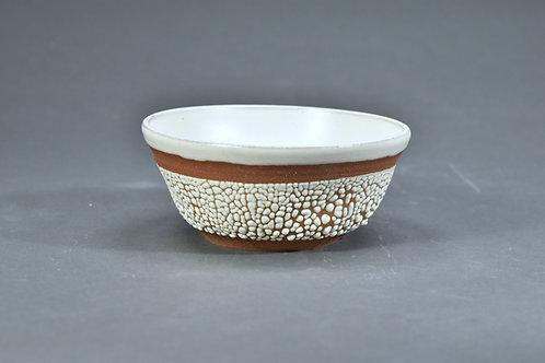 White Crawl Bowl