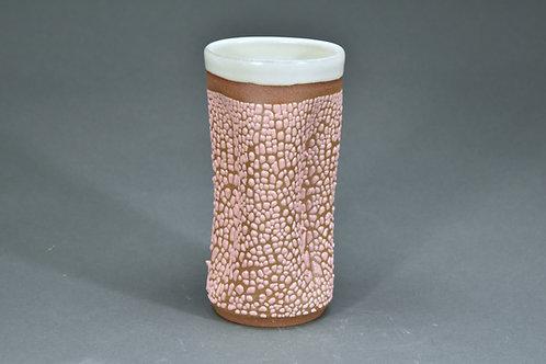 Pink Crawl Vase