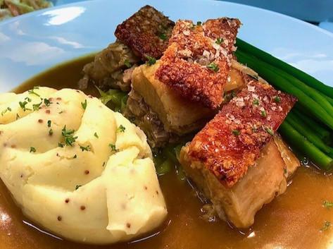 Pork Belly - specials menu