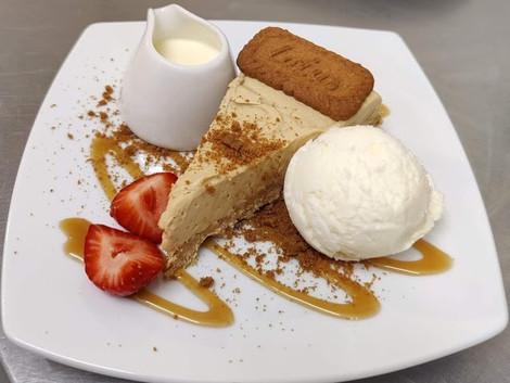Biscoff Cheesecake - normal menu