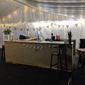 Marquee Bar Wedding Set-up