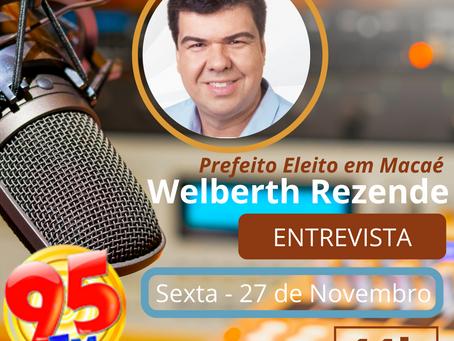 Entrevista - Welberth Rezende