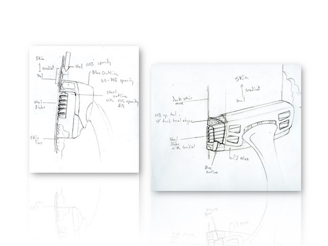 Initial Product Sketch