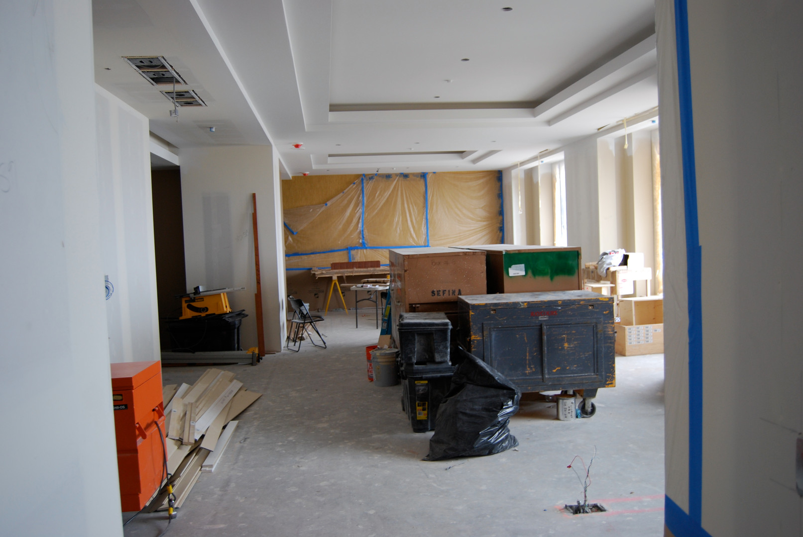Presidential Suite Construction