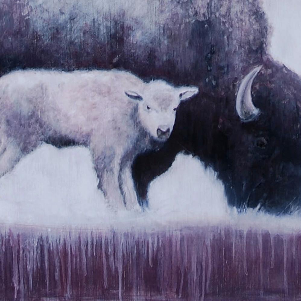 Momma Buffalo Detail