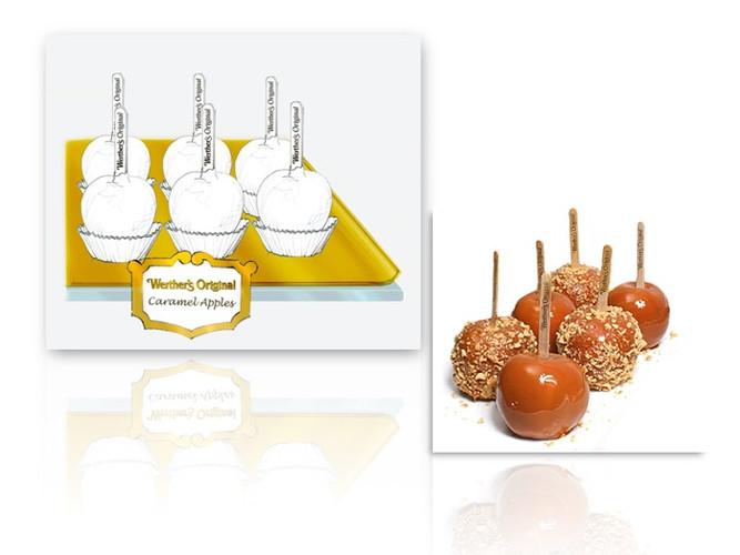 Werther's Caramel Apples