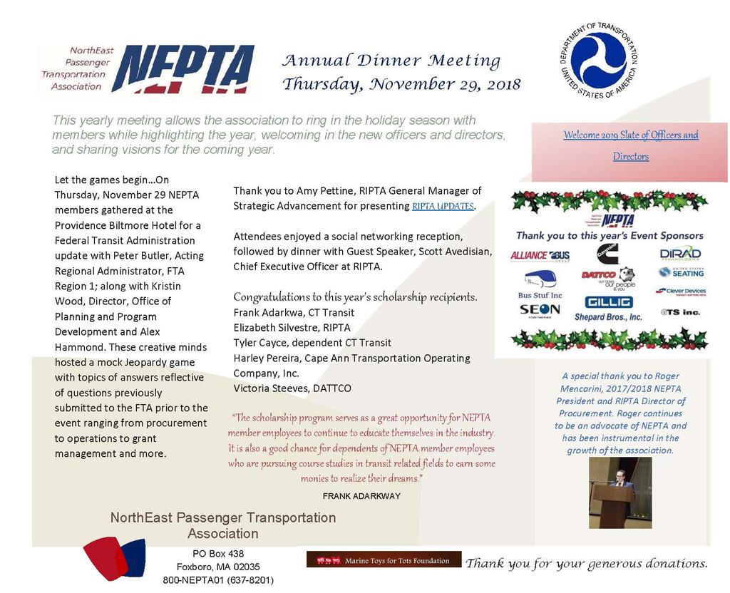 Nepta Annual Meeting Recap