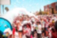 Cañon espuma en málaga, fiestas de la espuma málaga, torre del mar, velez málaga, PiroJose