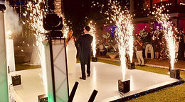 Fuego frío Málaga bodas, ceremonias, baile novios, cocktel bodas, costa del sol, sparkular, torre del mar, pirojose