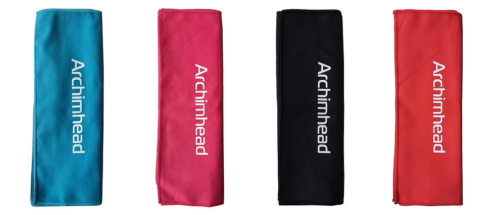 Set of 4 Archimhead Sport Towels