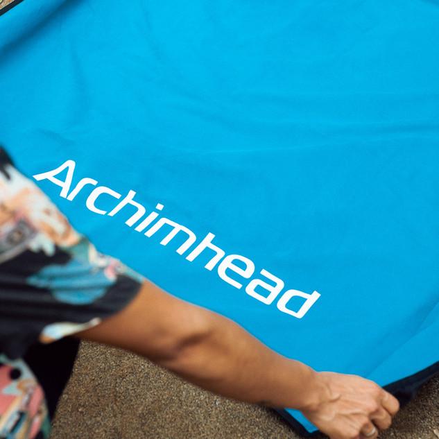 Couverture femme fontaine Archimhead