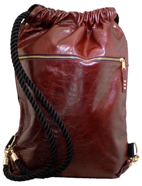 Burgundy Leather
