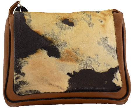 Hair on Hide Leather - Cognac Leather
