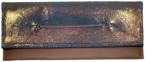 Metallic Bronze Leather - Carmel Leather