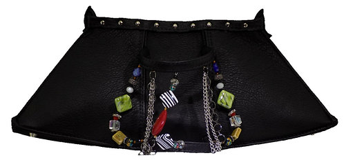 Black Leather - Bracelet