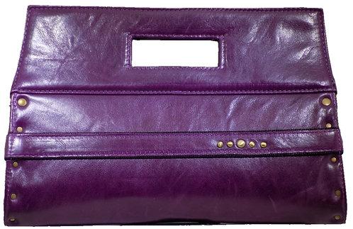 Purple Leather