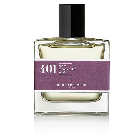 401: cedro / prugna candita / vaniglia